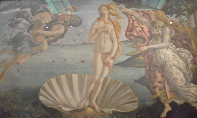 o nascimento da venus de botticelli